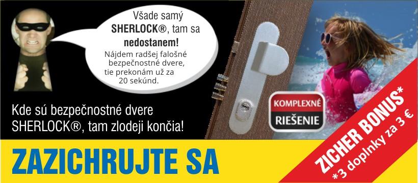 750d7a6e9c Preddovolenková akcia - Získajte ZICHER EXTRA BONUS - 3 bezpečnostné  doplnky za 3 Eurá